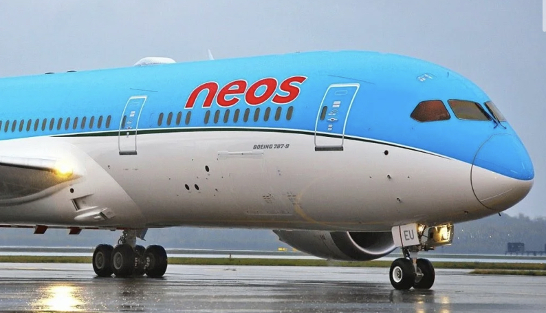Neos airline Italy