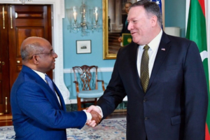 Michael R. Pompeo and Shahid