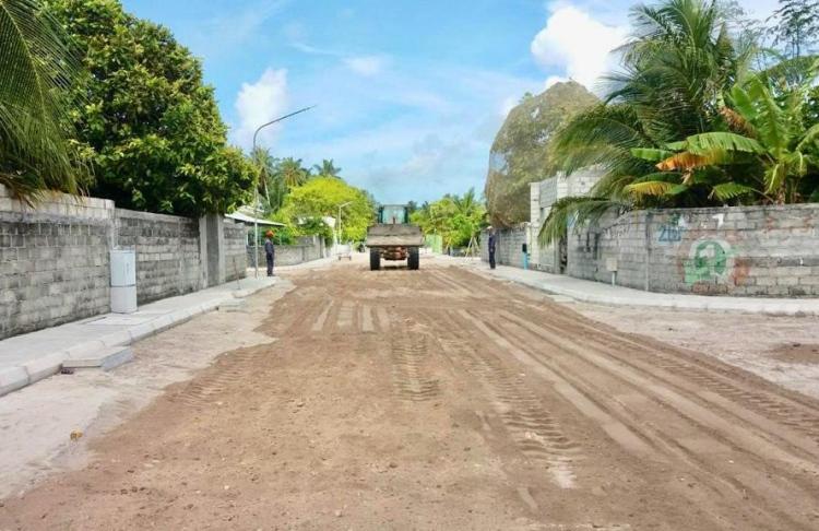 H.Dh. Atoll maldives road