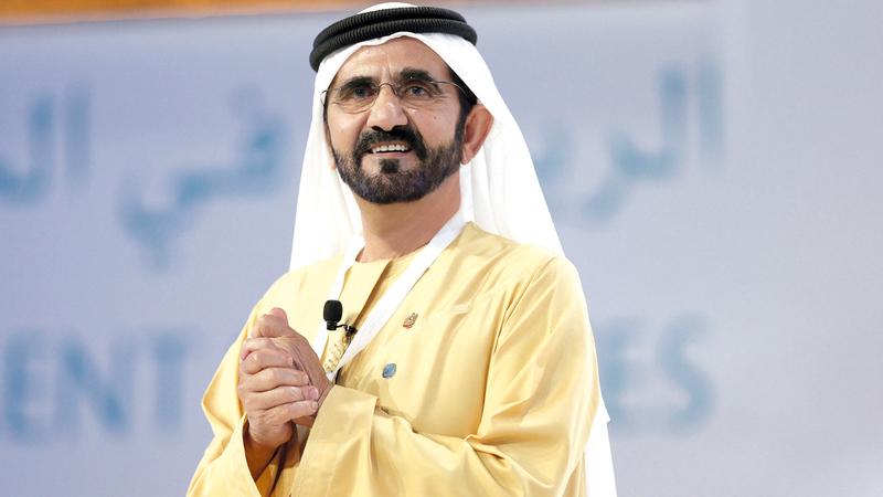 Sheikh Mohammed bin Rashid Al Maktoum, Vice President, Prime Minister of the UAE and Ruler of Dubai,