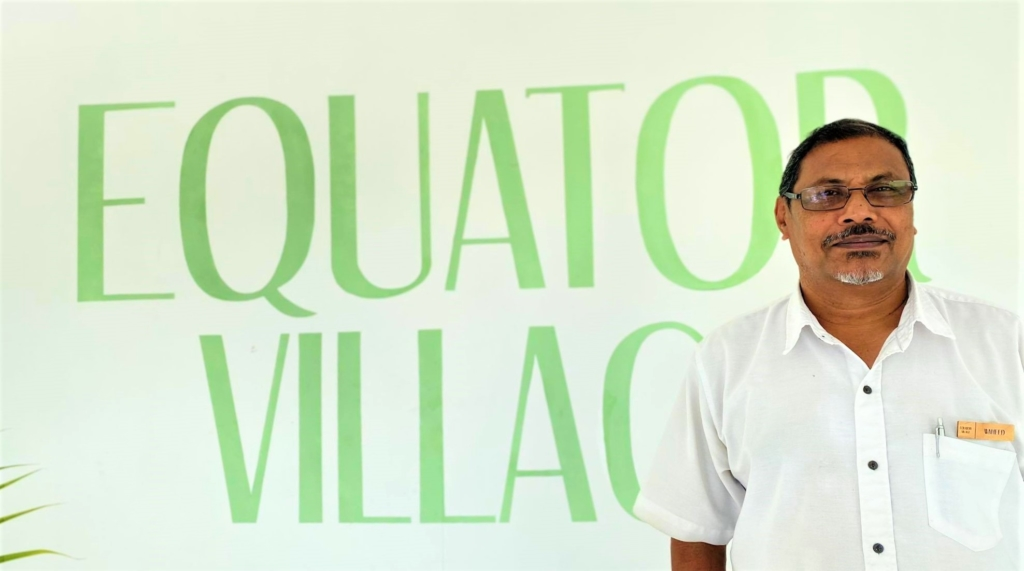equator village, mohamed waheed