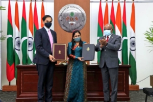 india and maldives signs MoU