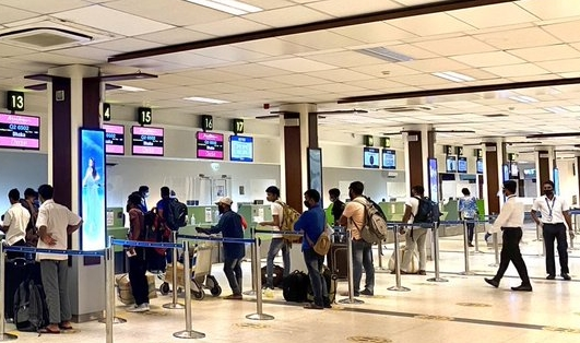 repatriate airport