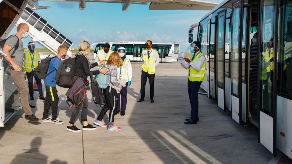 tourist arrival