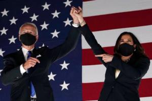 Joe Biden and Kamala Harris | AFP via Getty Images